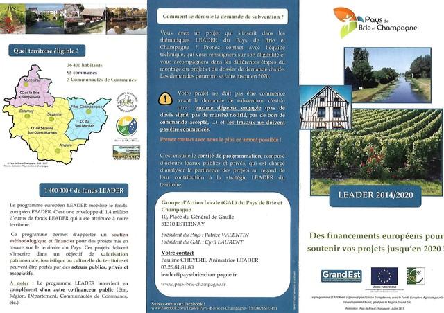 La France n'aime pas la ruralité, 700 millions d'€ non distribués, le projet LEADER 190121090552785501