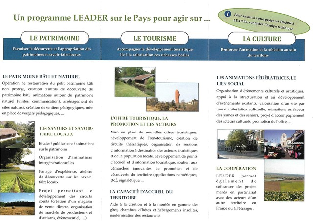 La France n'aime pas la ruralité, 700 millions d'€ non distribués, le projet LEADER 190121090639280198