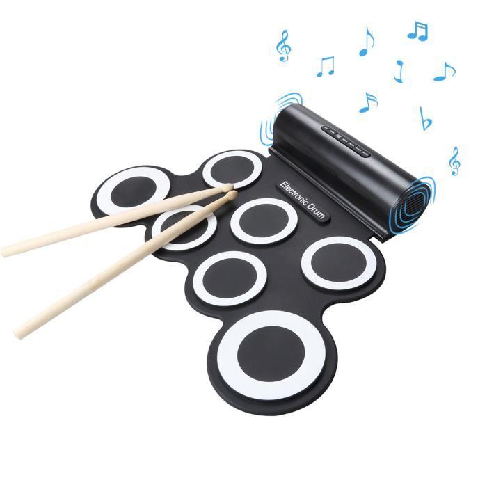 batterie-tambour-electronique-portable-pliable-sil