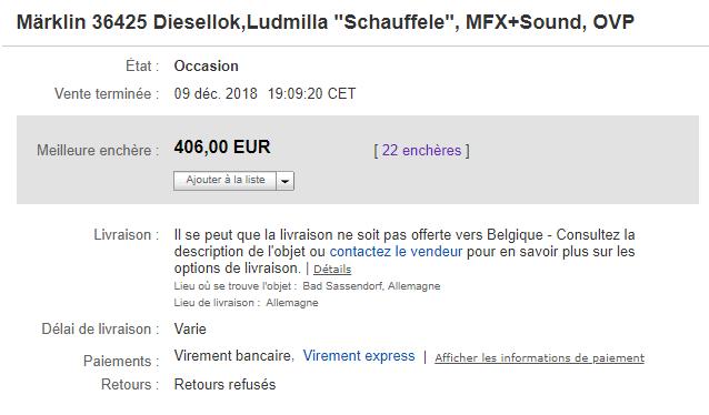 "Matériel roulant ""Eurotrain"" Marklin de Lolo ( Softbyte68 ) 190127041850508043"