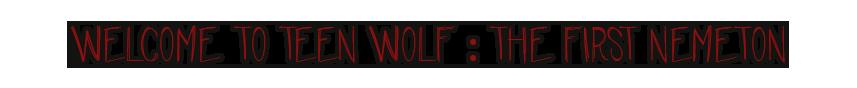 Teen wolf : The first Nemeton 190130075413487666