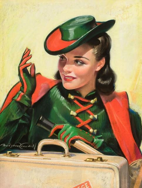 """Des élégantes  """"chapeautées"""" ... - Page 3 190131055133431041"""