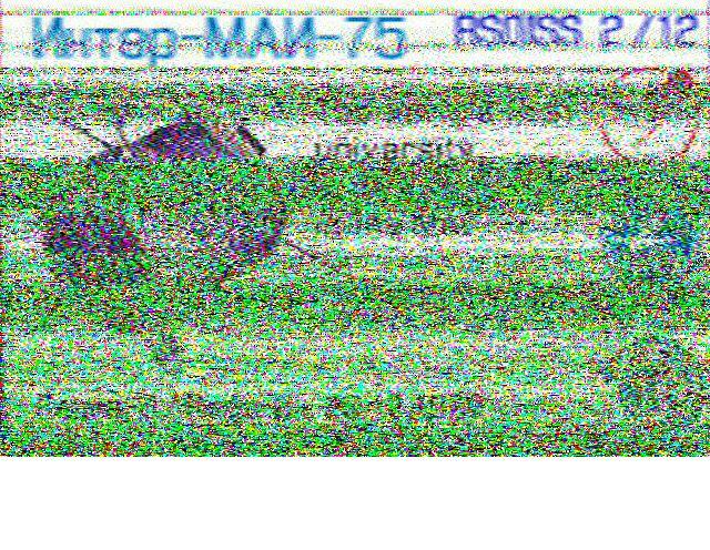 ISS SSTV du 30 et 31.1.19 190131064216311098