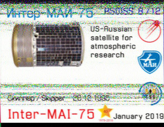 ISS SSTV du 30 et 31.1.19 190131064249727702