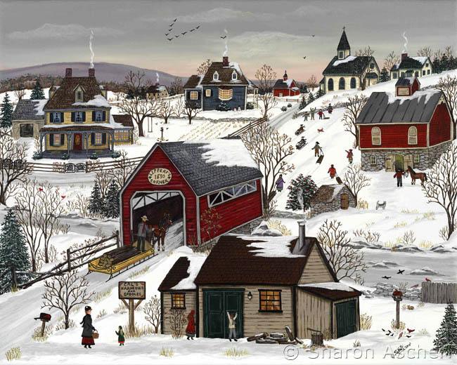 Paysages d'hiver ... 19013109142574869