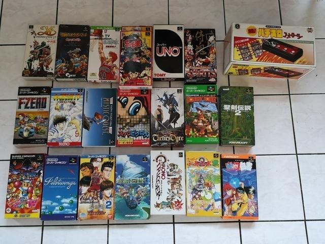 vend 32 jeux Super Famicom a bon prix  190205052814982218