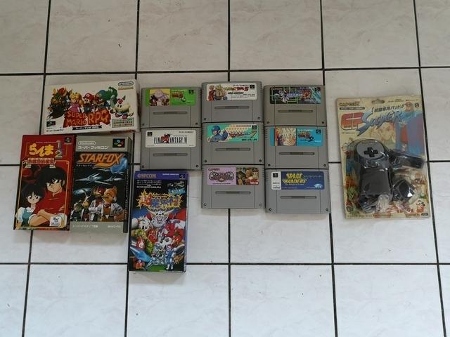 vend 32 jeux Super Famicom a bon prix  190205052816263787