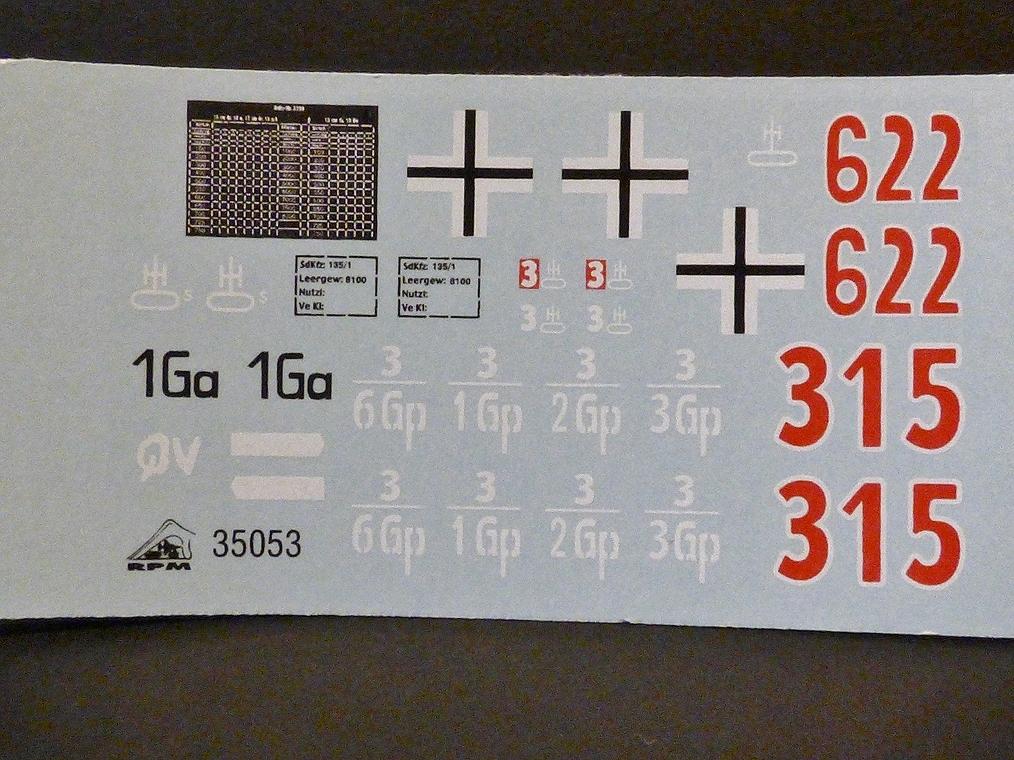 15 cm sFH.13/1 auf Geschutzwagen Lorraine-Schlepper Sd.Kfz. 135/1   RPM 1/35 ème  190210104902441355