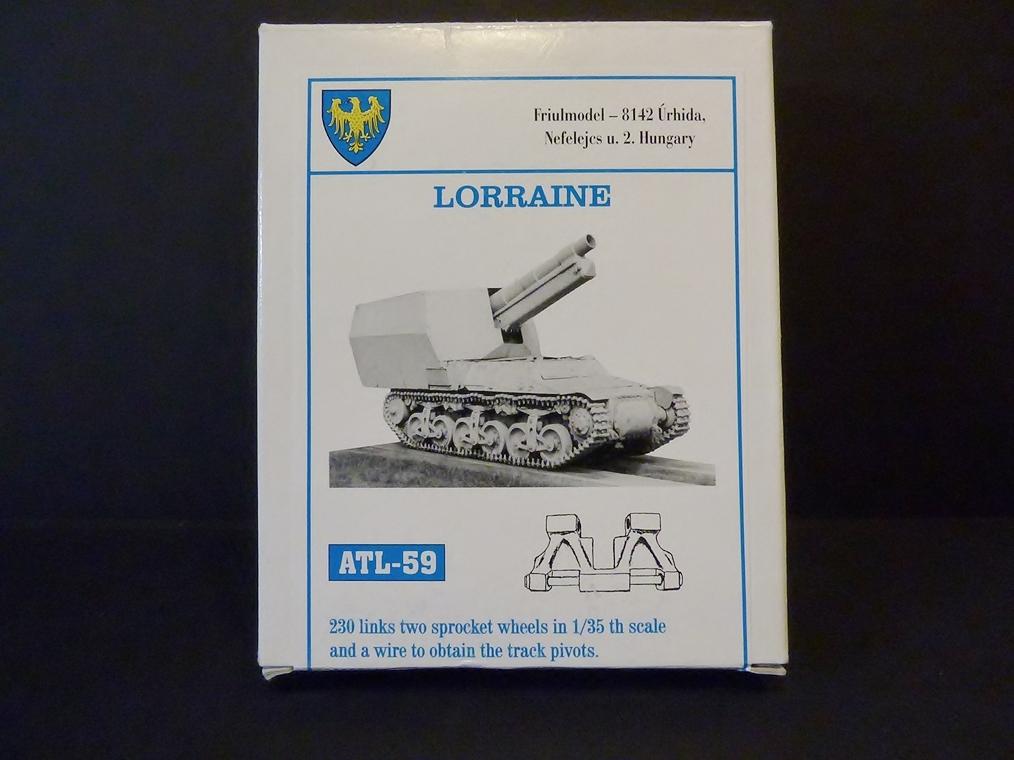 15 cm sFH.13/1 auf Geschutzwagen Lorraine-Schlepper Sd.Kfz. 135/1   RPM 1/35 ème  190210104936558196