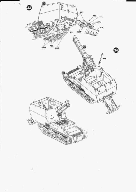 15 cm sFH.13/1 auf Geschutzwagen Lorraine-Schlepper Sd.Kfz. 135/1   RPM 1/35 ème  190210104958822647