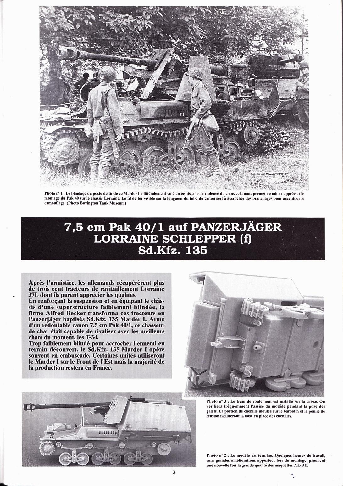 15 cm sFH.13/1 auf Geschutzwagen Lorraine-Schlepper Sd.Kfz. 135/1   RPM 1/35 ème  190210105032771870