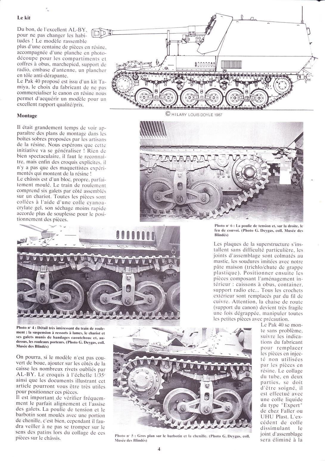 15 cm sFH.13/1 auf Geschutzwagen Lorraine-Schlepper Sd.Kfz. 135/1   RPM 1/35 ème  190210105053306693