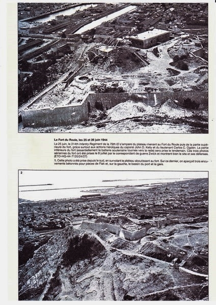 """Festung CHERBOURG """"Fort du Roule"""" 79th ID 25/26 JUIN 1944  - Page 4 190212073029383017"""