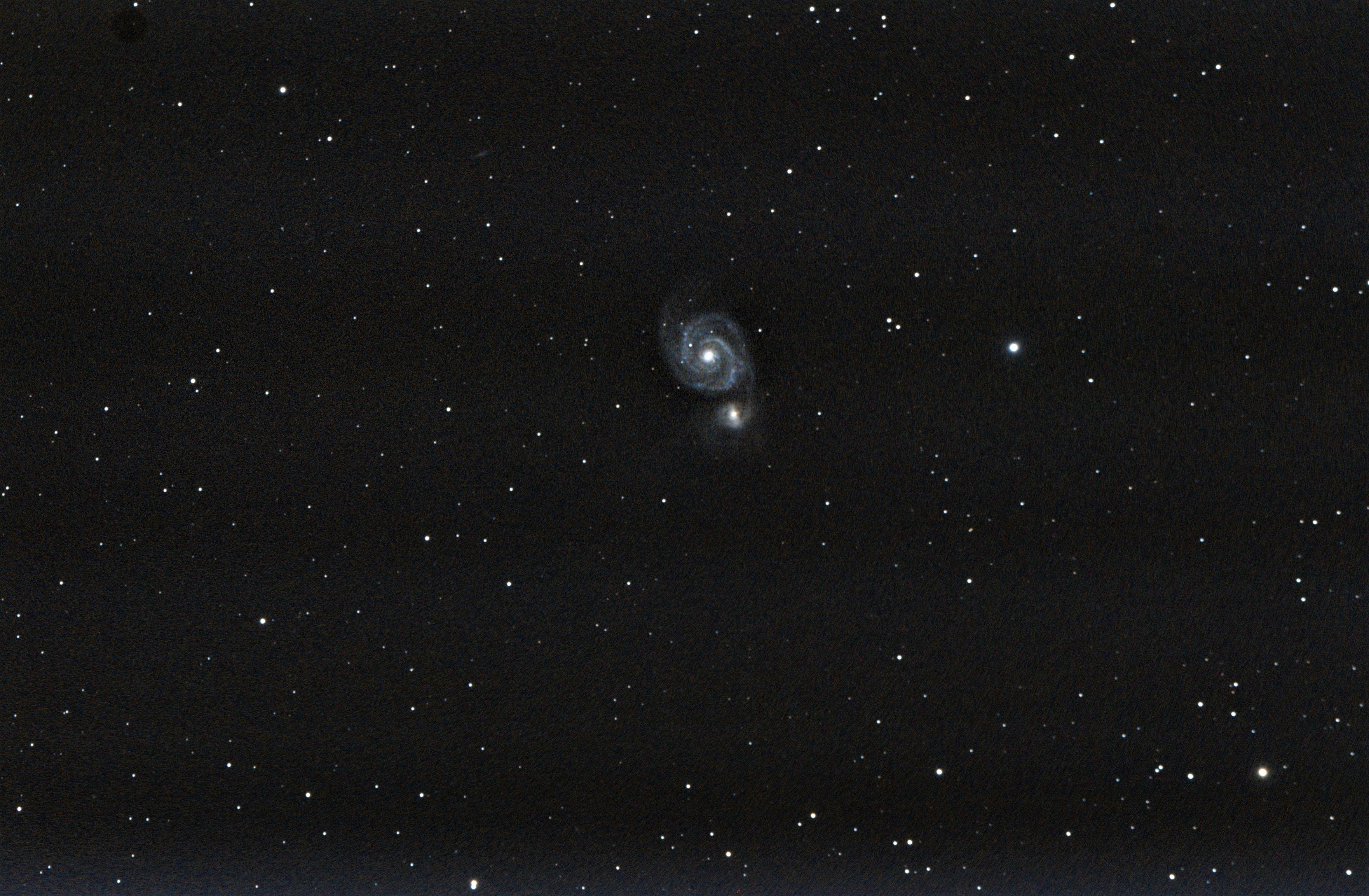 M51 galaxie du tourbillon - Copie