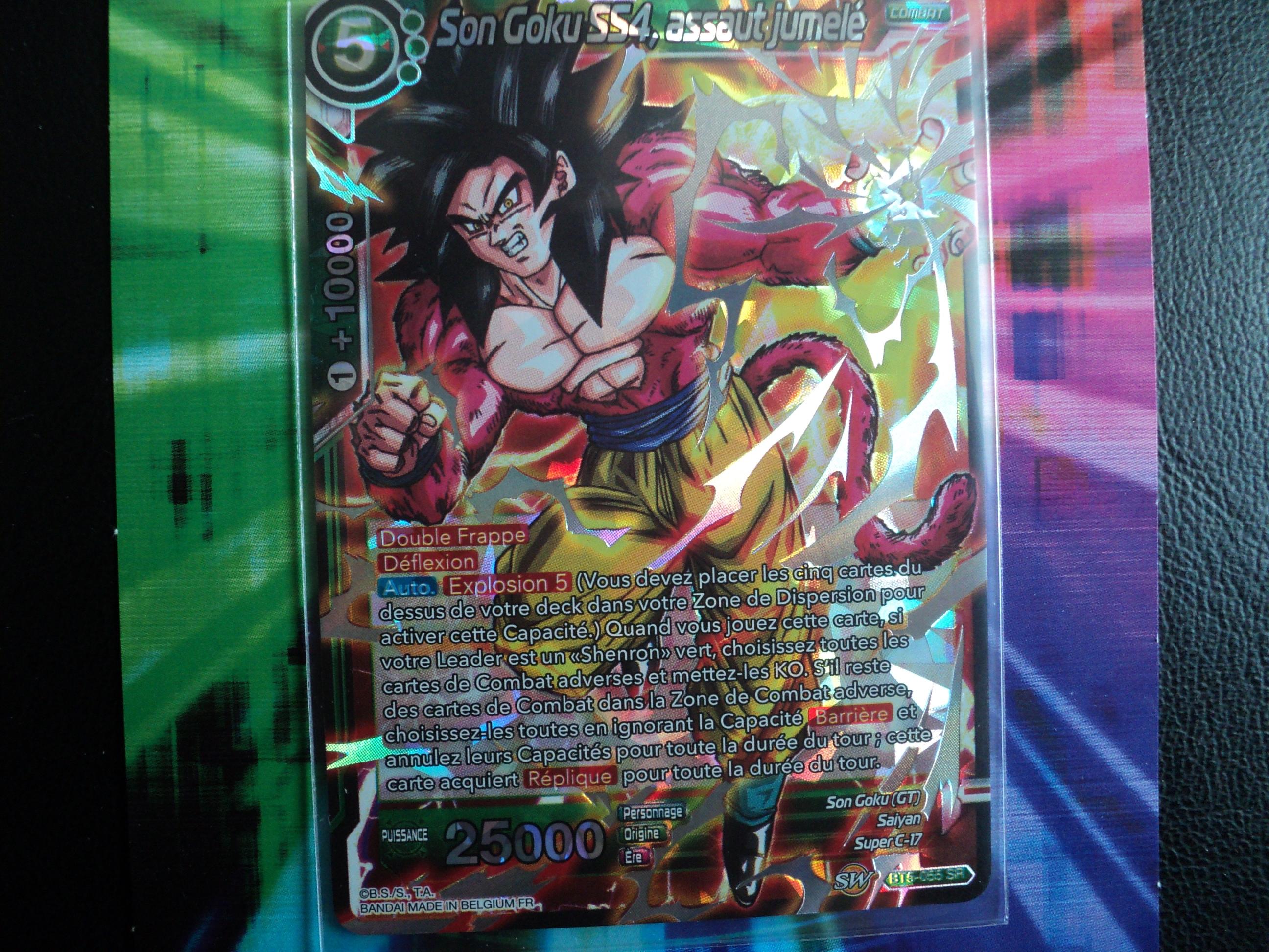 NM Dragon Ball Super Français TB1-072 Assaut des combattantes Foil