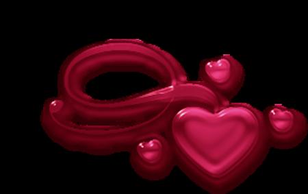 coeur fuschia