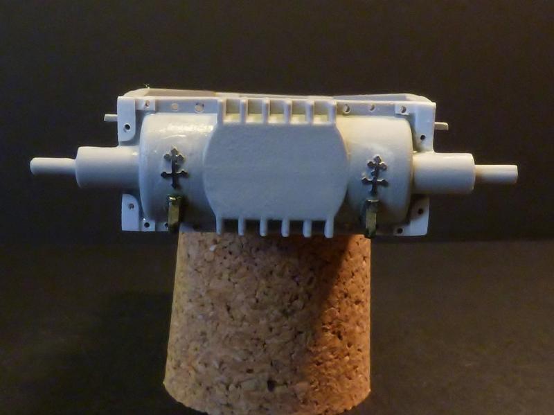 15 cm sFH.13/1 auf Geschutzwagen Lorraine-Schlepper Sd.Kfz. 135/1   RPM 1/35 ème  190218082541767649