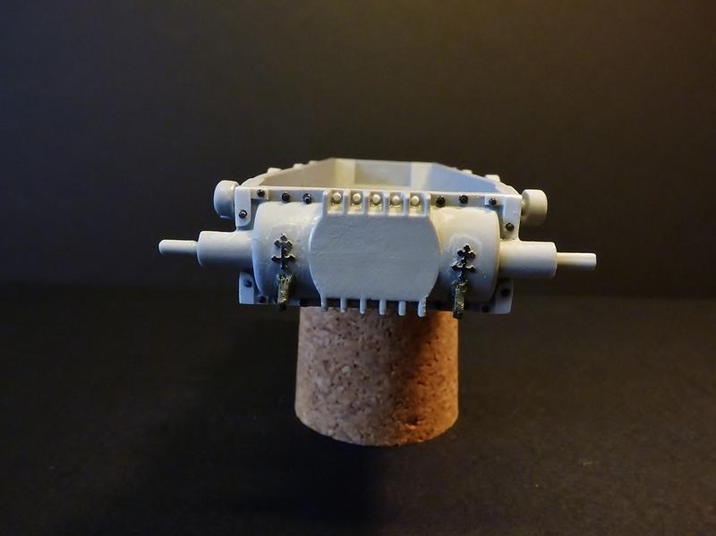 15 cm sFH.13/1 auf Geschutzwagen Lorraine-Schlepper Sd.Kfz. 135/1   RPM 1/35 ème  190218084343497147