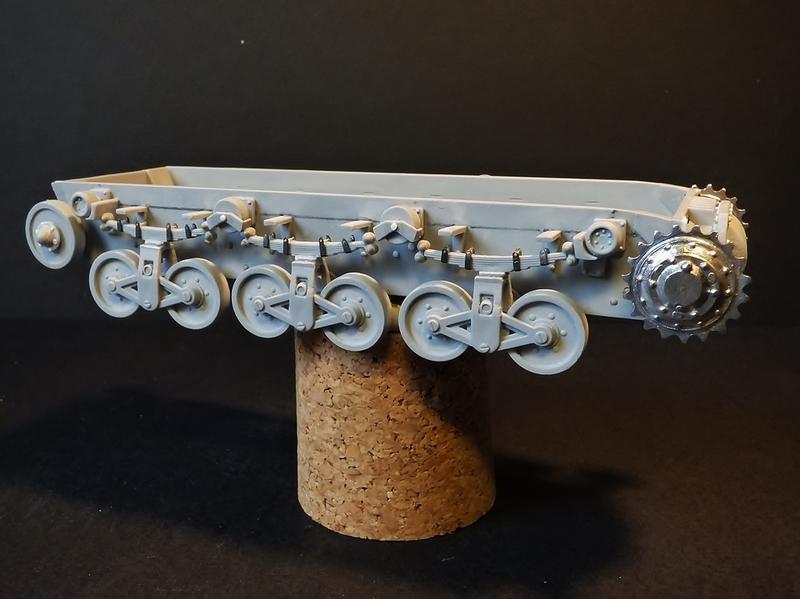 15 cm sFH.13/1 auf Geschutzwagen Lorraine-Schlepper Sd.Kfz. 135/1   RPM 1/35 ème  190219021427449269