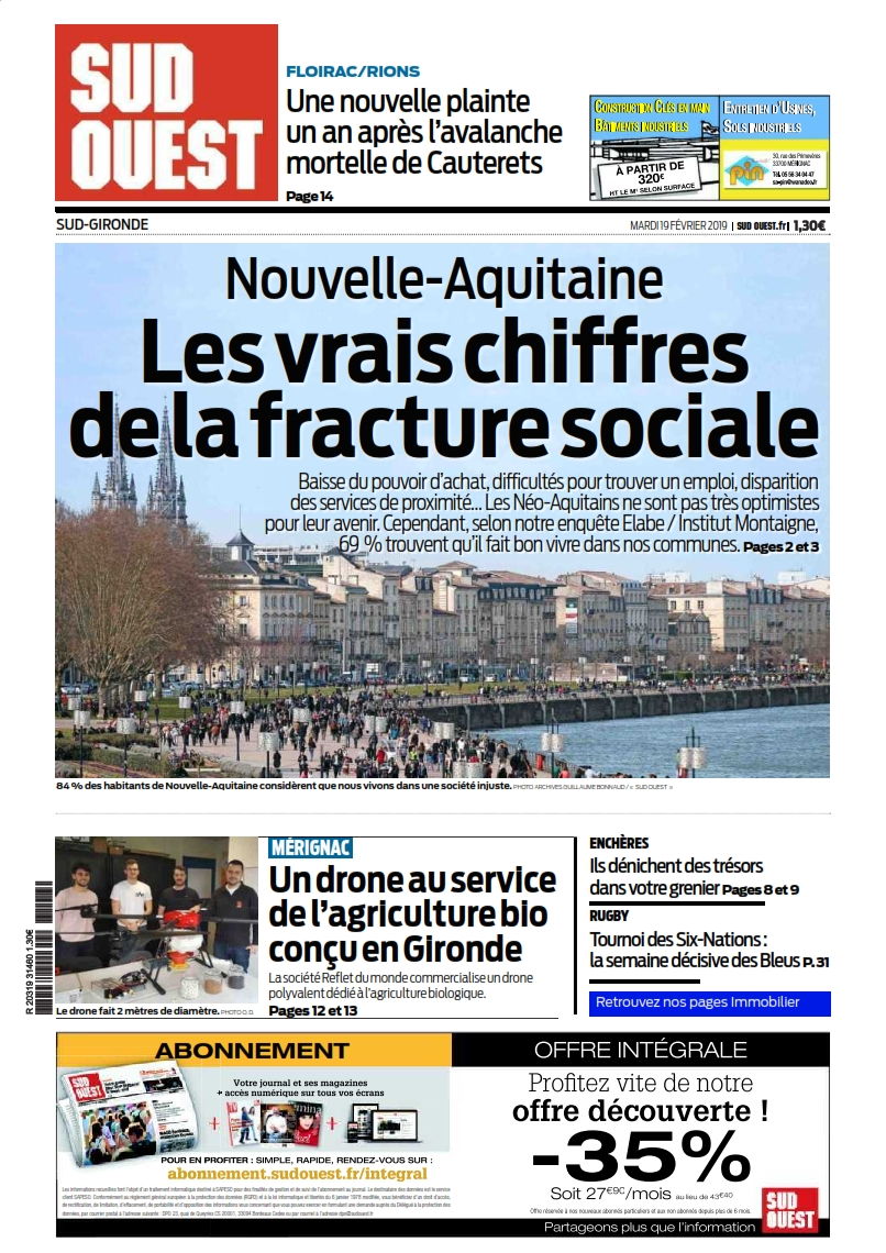 sud ouest Sud Gironde 2019-02-19