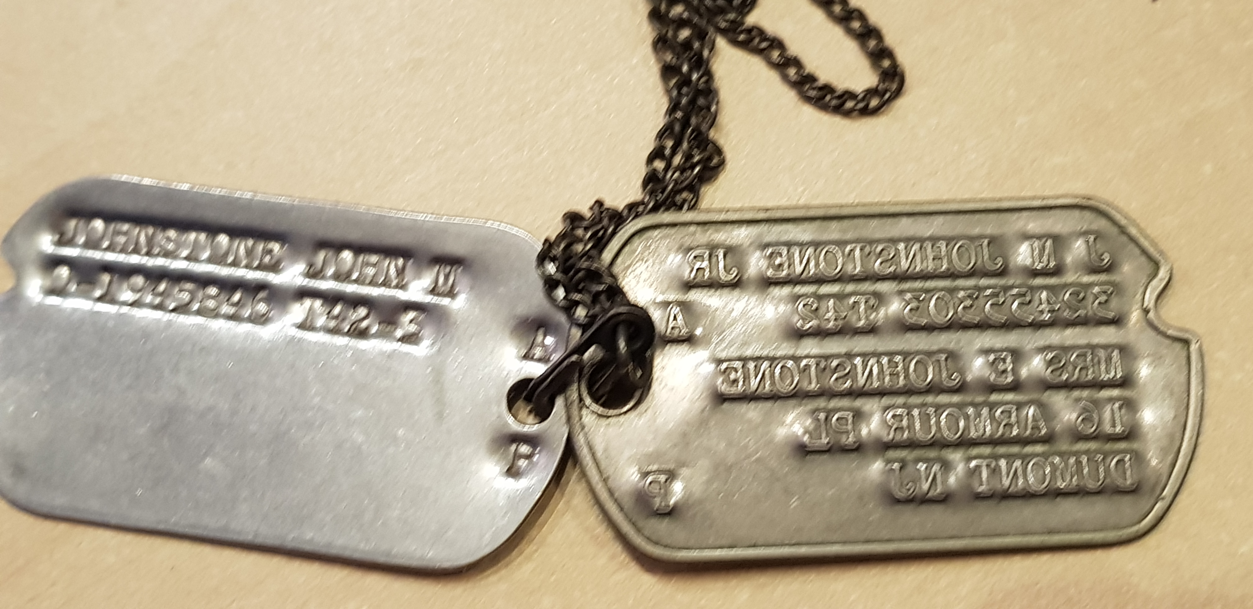 plaque d'identité Us 190220124801219930