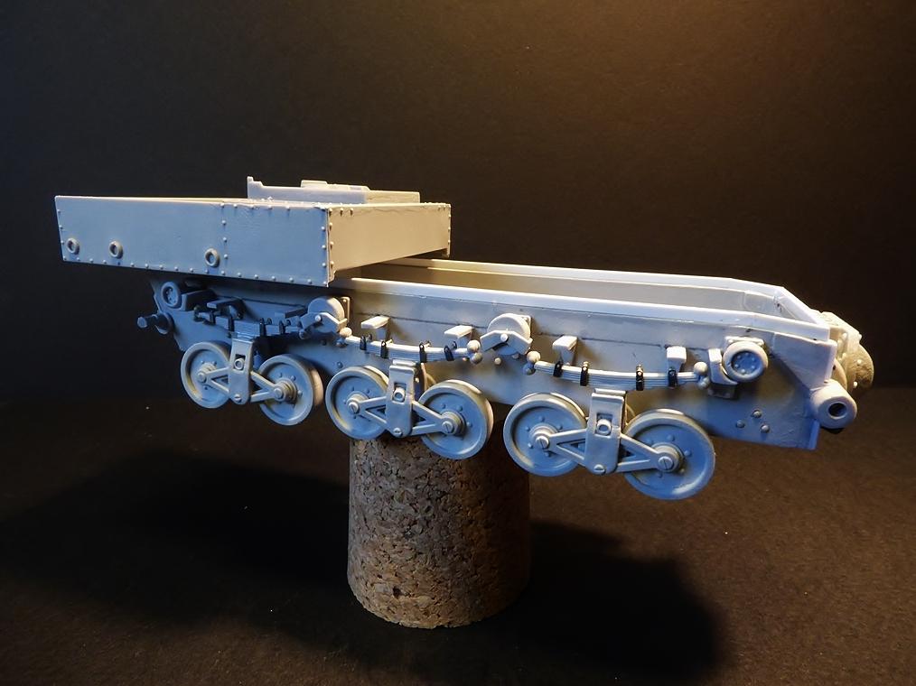 15 cm sFH.13/1 auf Geschutzwagen Lorraine-Schlepper Sd.Kfz. 135/1   RPM 1/35 ème  190222044551701318