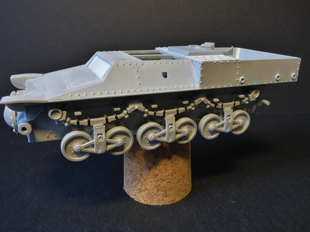 15 cm sFH.13/1 auf Geschutzwagen Lorraine-Schlepper Sd.Kfz. 135/1   RPM 1/35 ème  190222052939494548