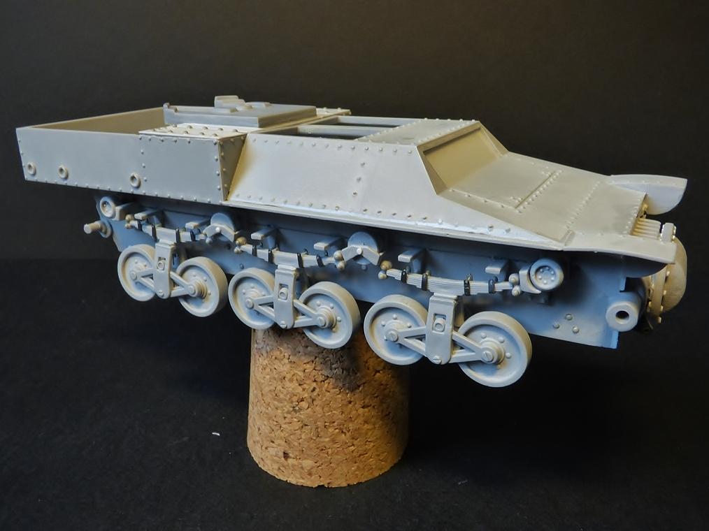 15 cm sFH.13/1 auf Geschutzwagen Lorraine-Schlepper Sd.Kfz. 135/1   RPM 1/35 ème  190222052939818601