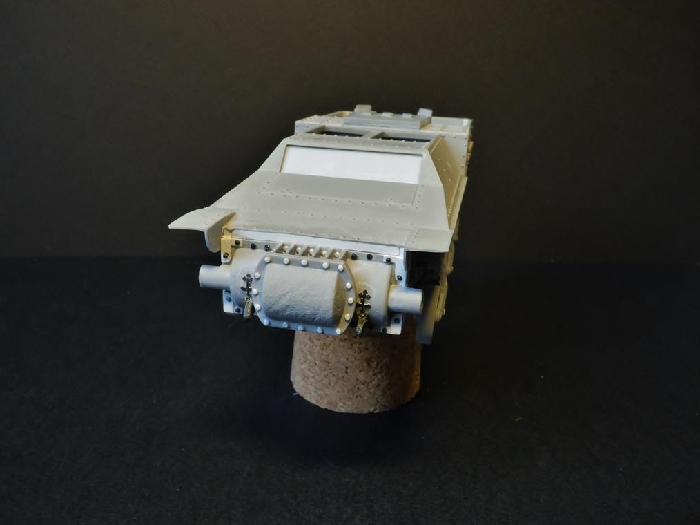 15 cm sFH.13/1 auf Geschutzwagen Lorraine-Schlepper Sd.Kfz. 135/1   RPM 1/35 ème  190222052946503940