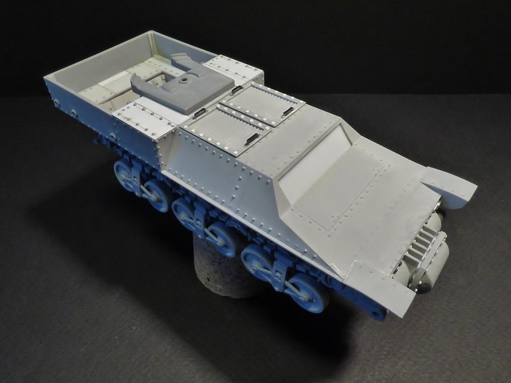 15 cm sFH.13/1 auf Geschutzwagen Lorraine-Schlepper Sd.Kfz. 135/1   RPM 1/35 ème  190222052953841876