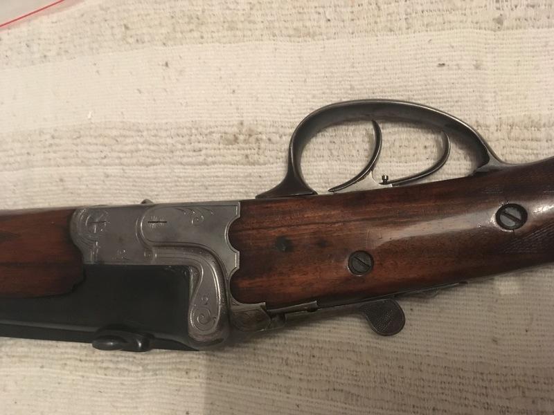 Vieille bete, carabine mixte du debut du siecle 19022410240653344