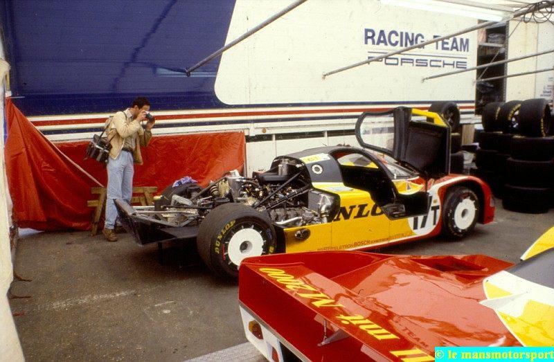 24 h 88 17T Porsche 956 mulet moteur