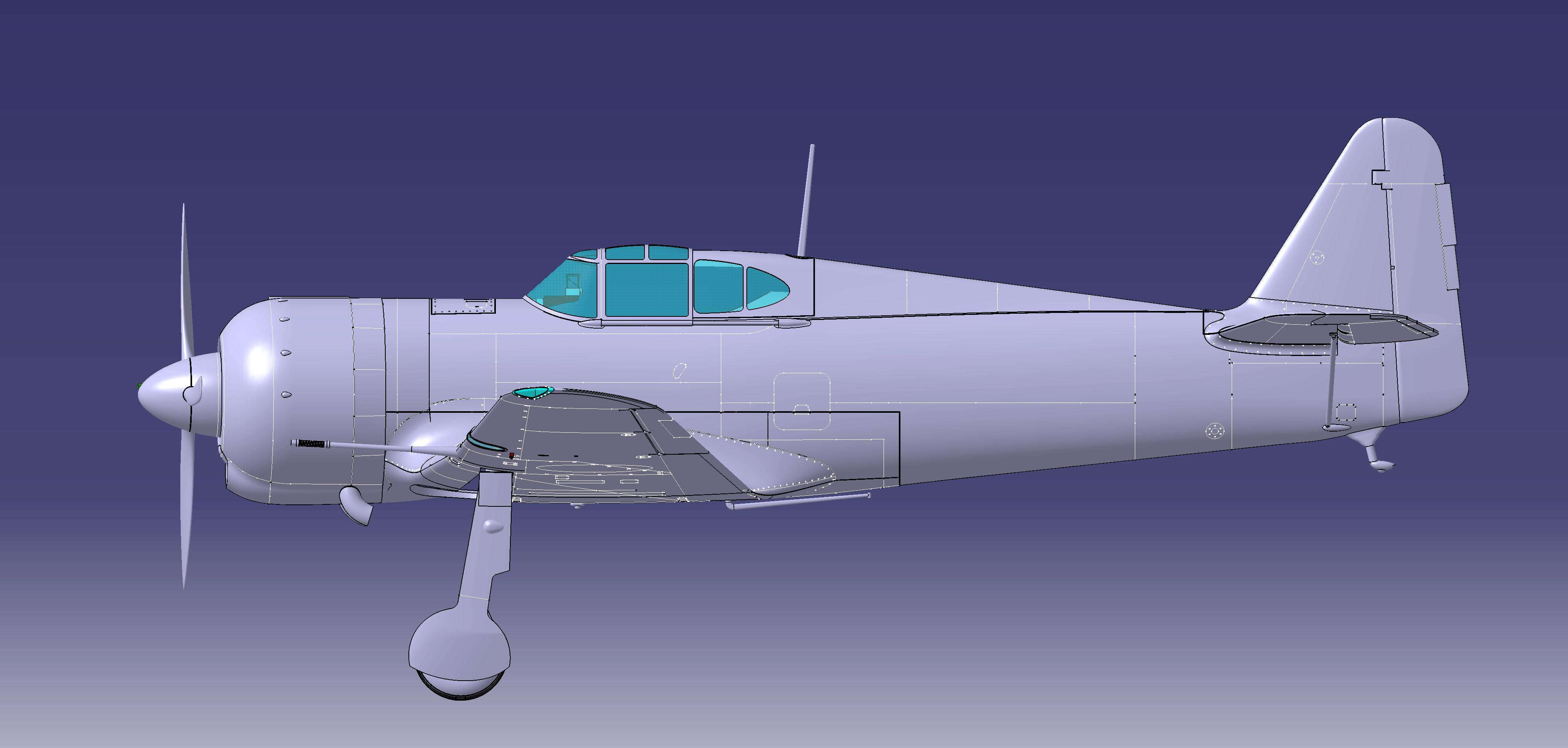 [RS-Models] Bloch MB.155 (80 ans montage 08) - Terminé !!! 19022512193058251
