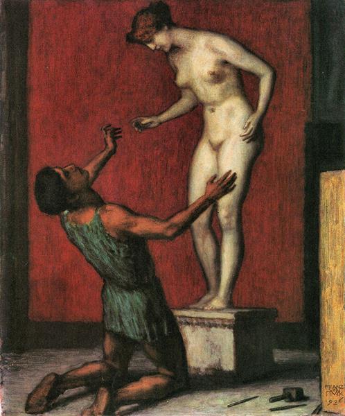 Pygmalion by Franz von Stuck