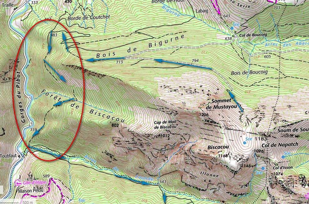 Bois Biscacou et Launde