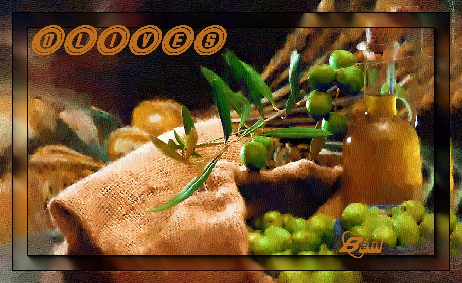 Alphabet animé O / Olive ou Oeillet 190228055645872197