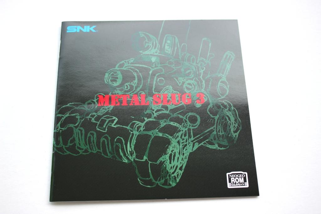 Metal Slug 3 (04) Brand New