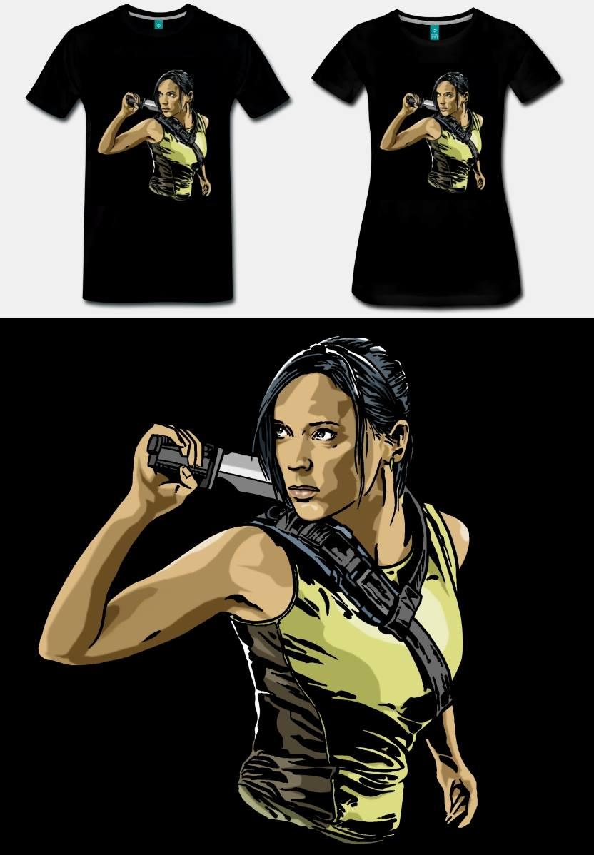 caro tee shirt