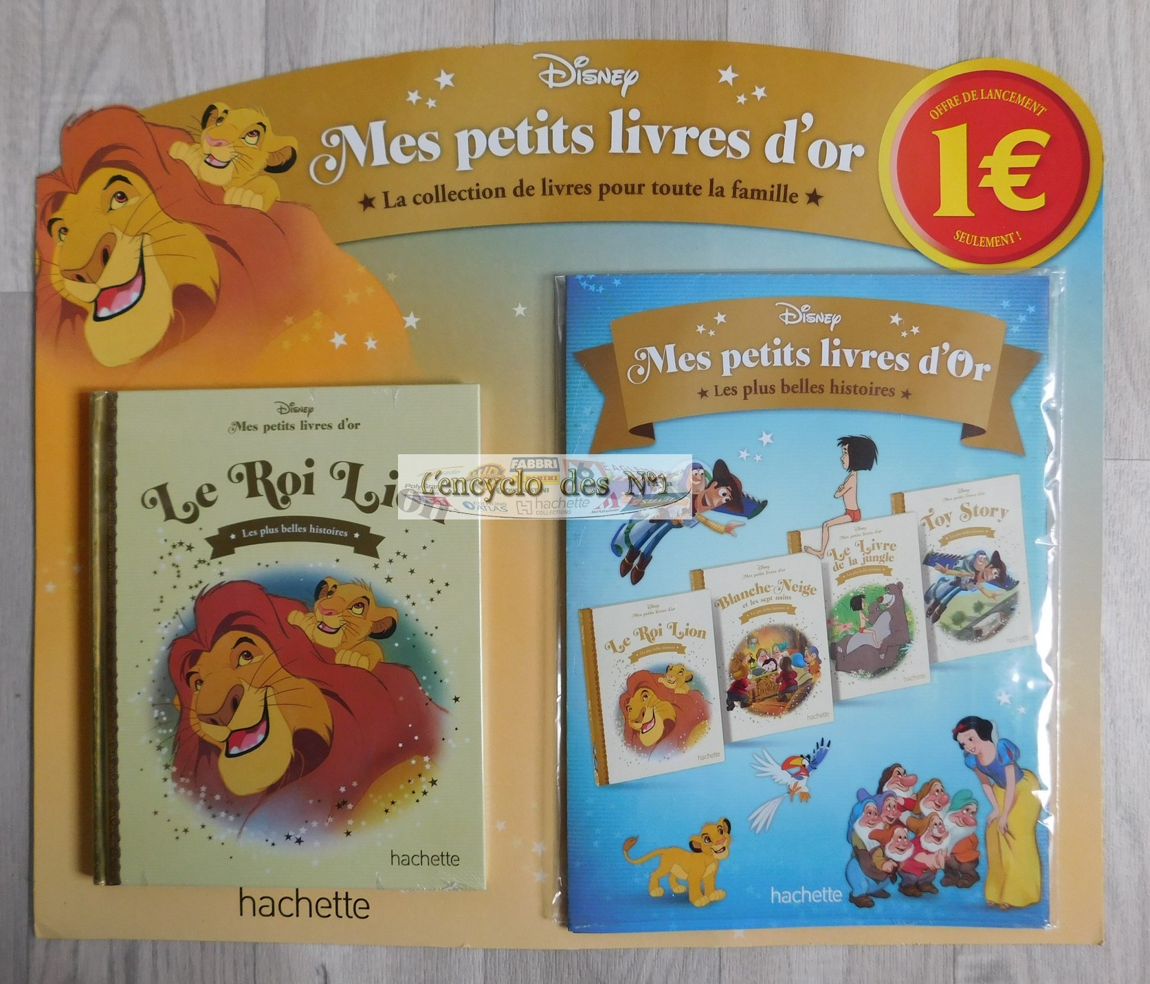 N° 1 Collection livres d'or Disney - Mars 2019 190306124932268953