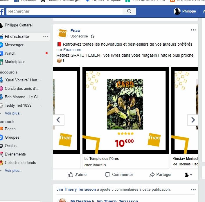 pub fnac Facebook