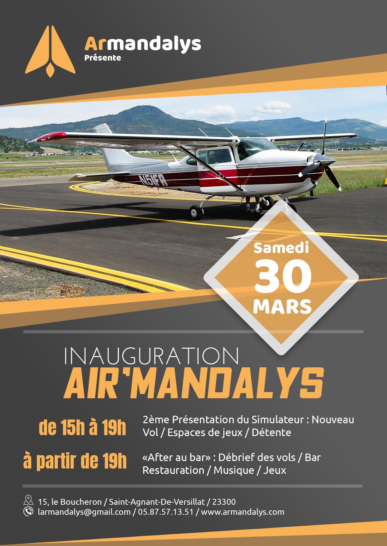 Inauguration Air'Mandalys