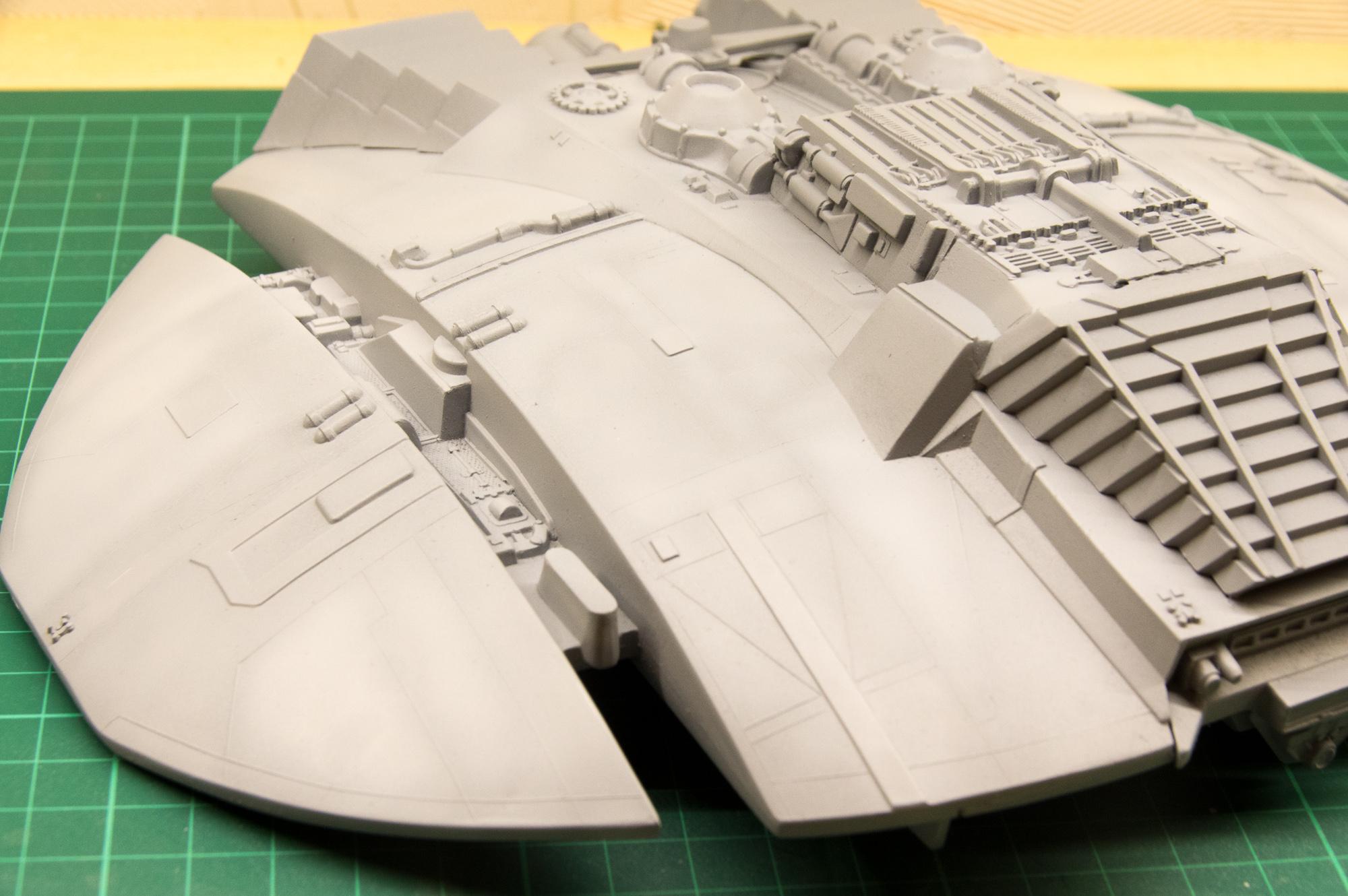 Chasseur Cylon - Galactica 190312113400430268