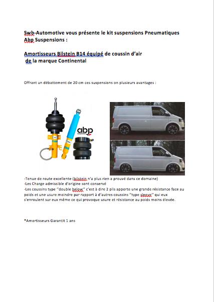 Kit Suspensions Pneumatiques Transporter *News* 190315063913289691