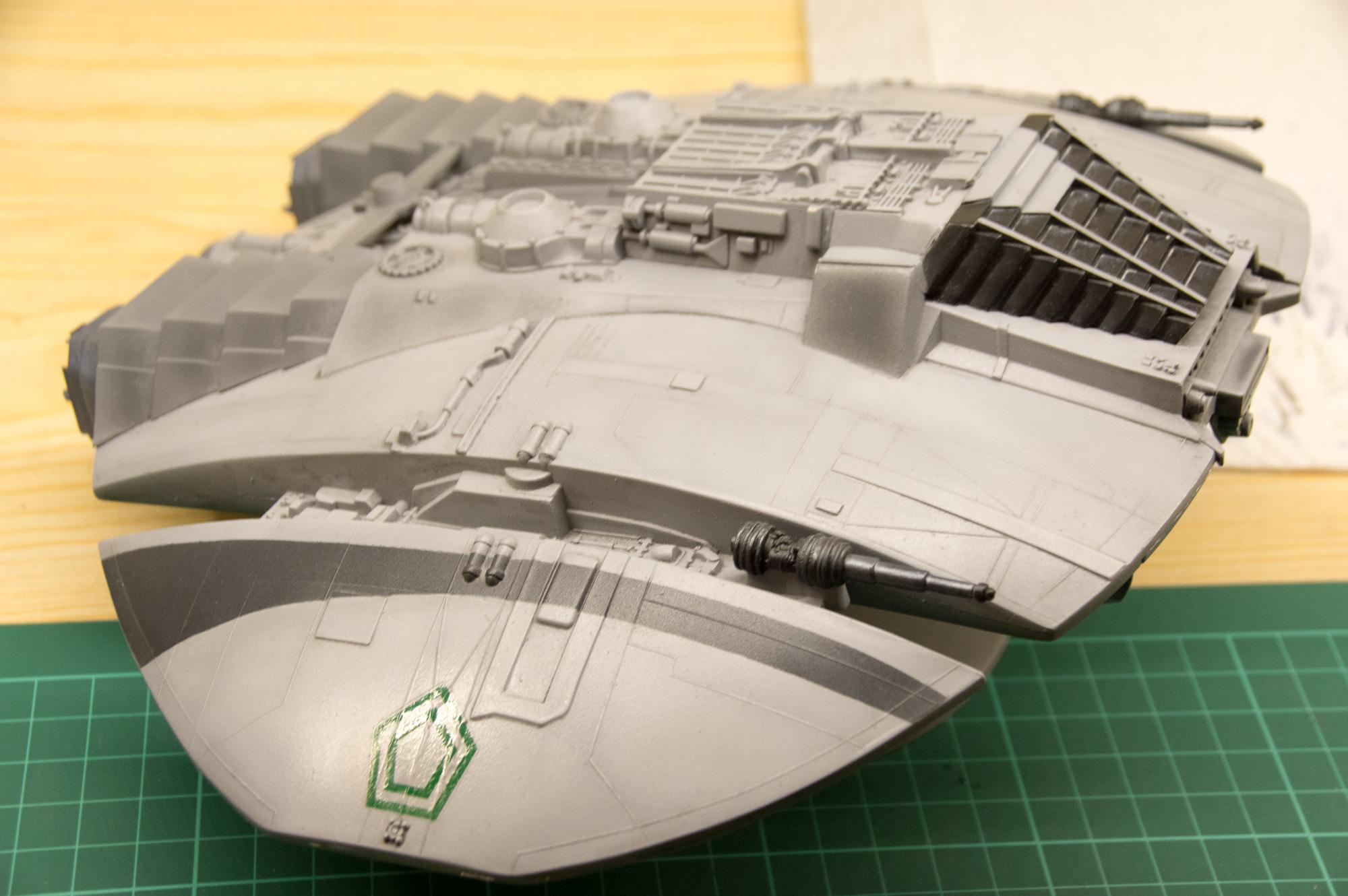 Chasseur Cylon - Galactica 190317070612833312