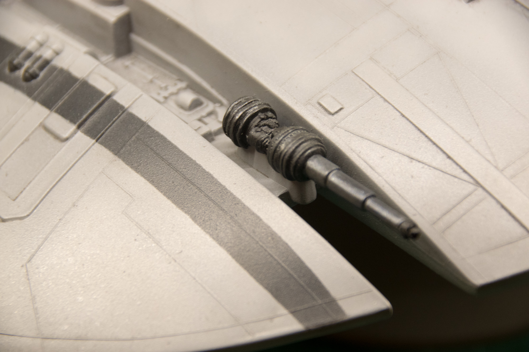 Chasseur Cylon - Galactica 190317072115105926