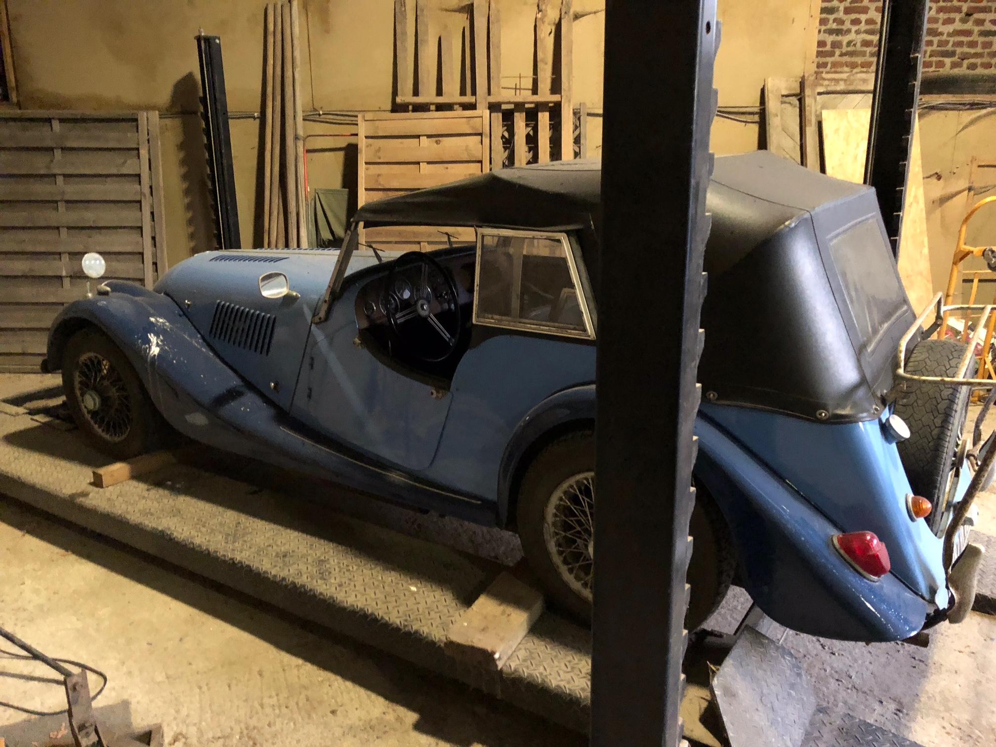 Nouveau projet auto : Morgan 4/4 19032007515089648