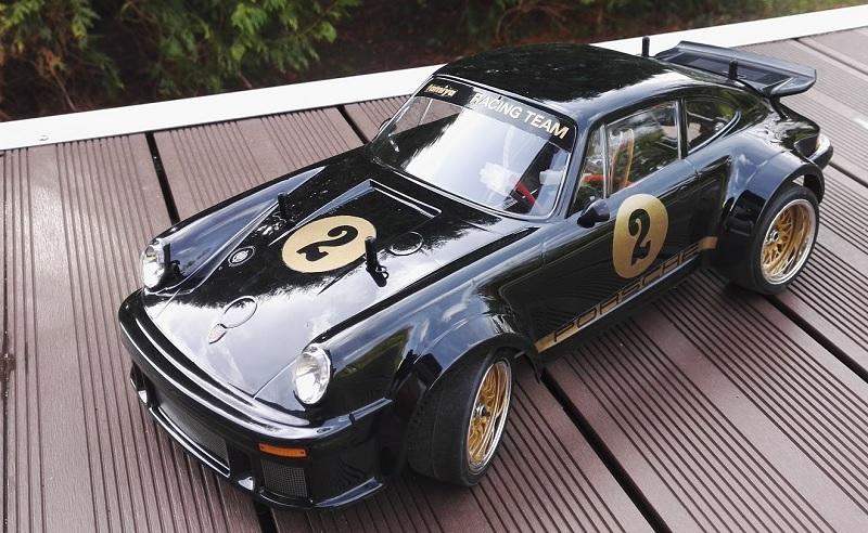 Tamiya Porsche 934 black edition