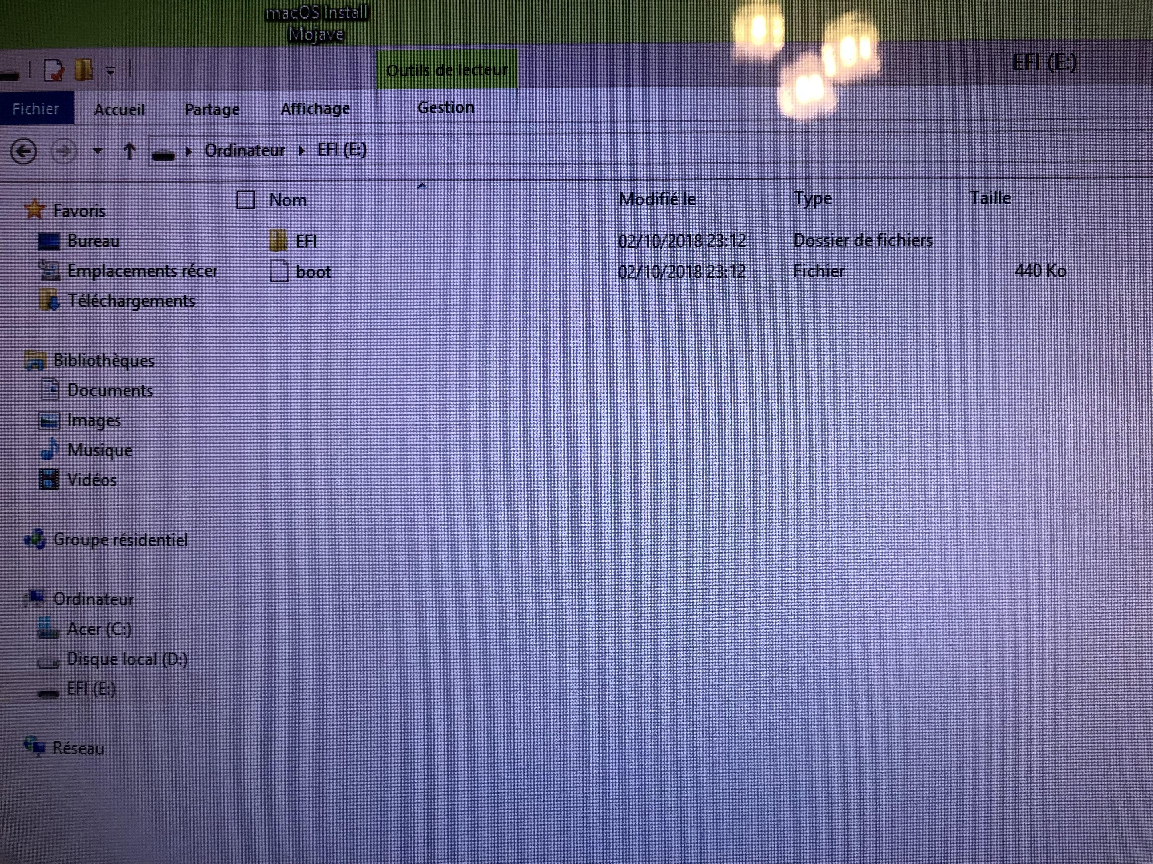 Besoin d'aide clé de boot et installation  190322080309555988