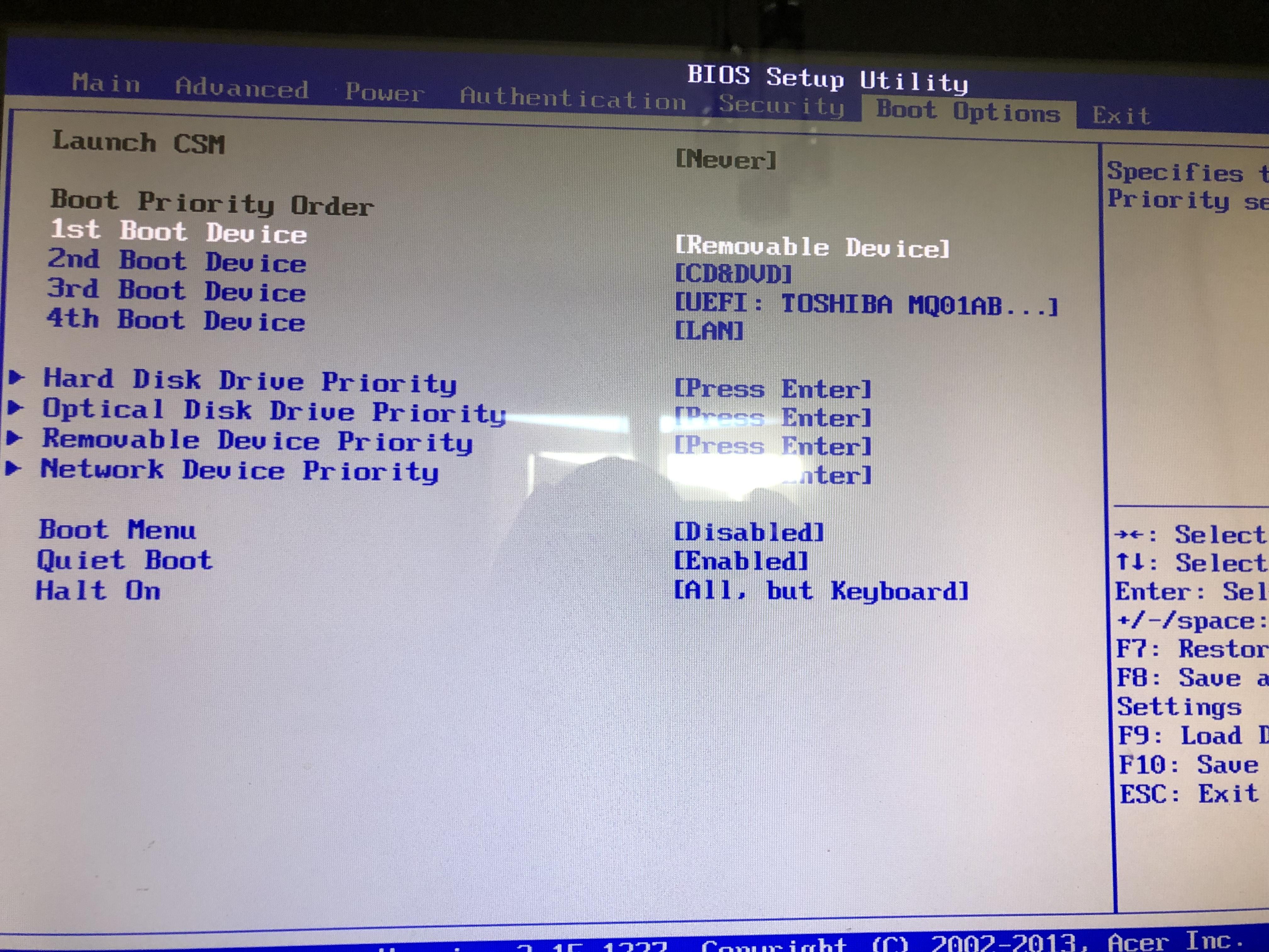 Besoin d'aide clé de boot et installation  190323102124615482