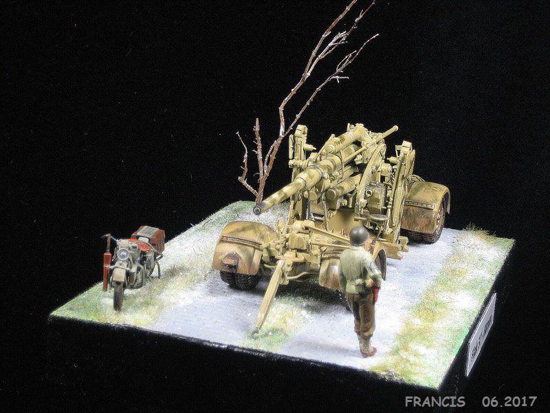 Flak 37 88 mm TAMIYA et non pas ESCI comme renseigné erronément - 1/35 19032612205296242